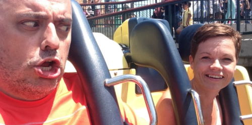 Pamela broke California Screaming today