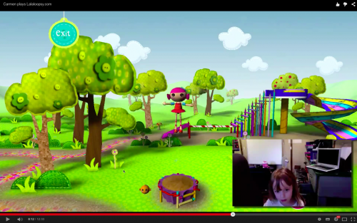 Carmen plays Lalaloopsy.com