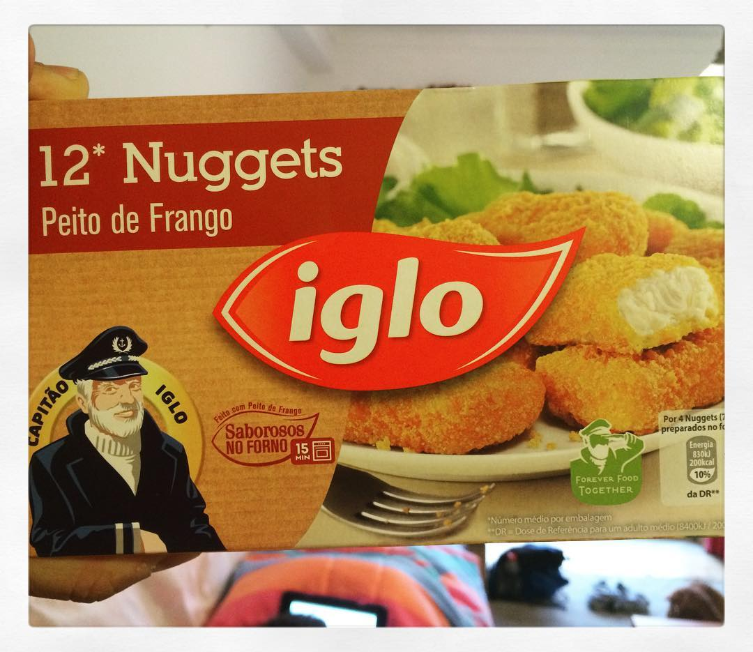 Portuguese Captain Highliner makes chicken nuggets.