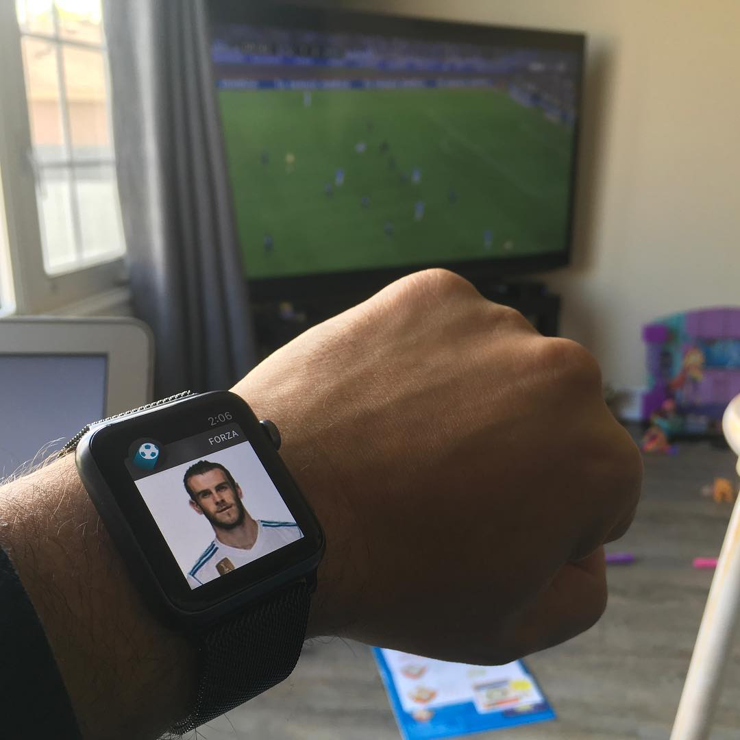 First World Problem: my watch tells me who is about to score, 10 seconds before it happens on the livestream.
