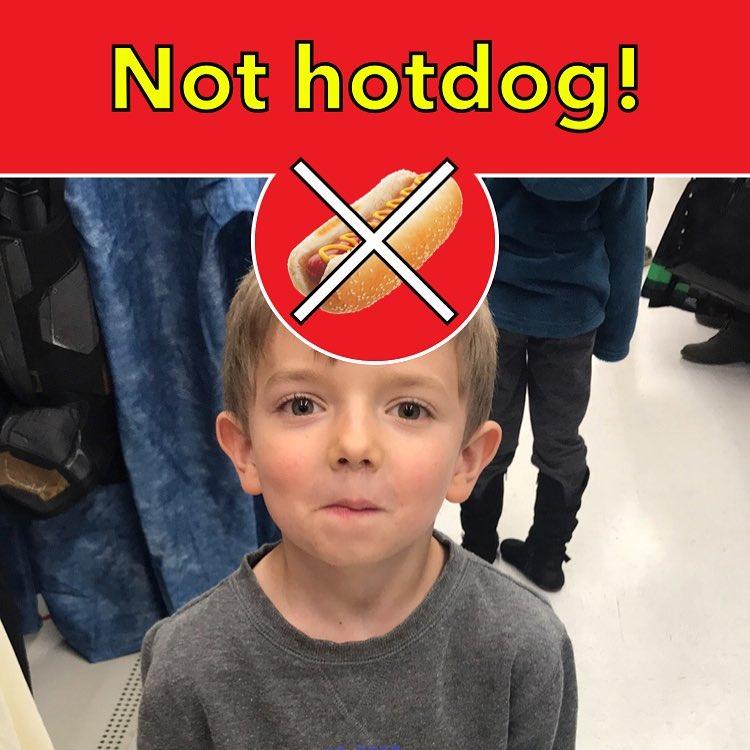 Still not a hotdog.