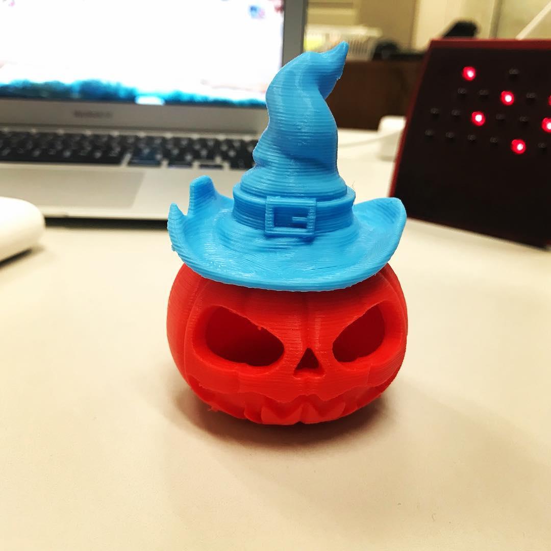 My Halloween 3D print.