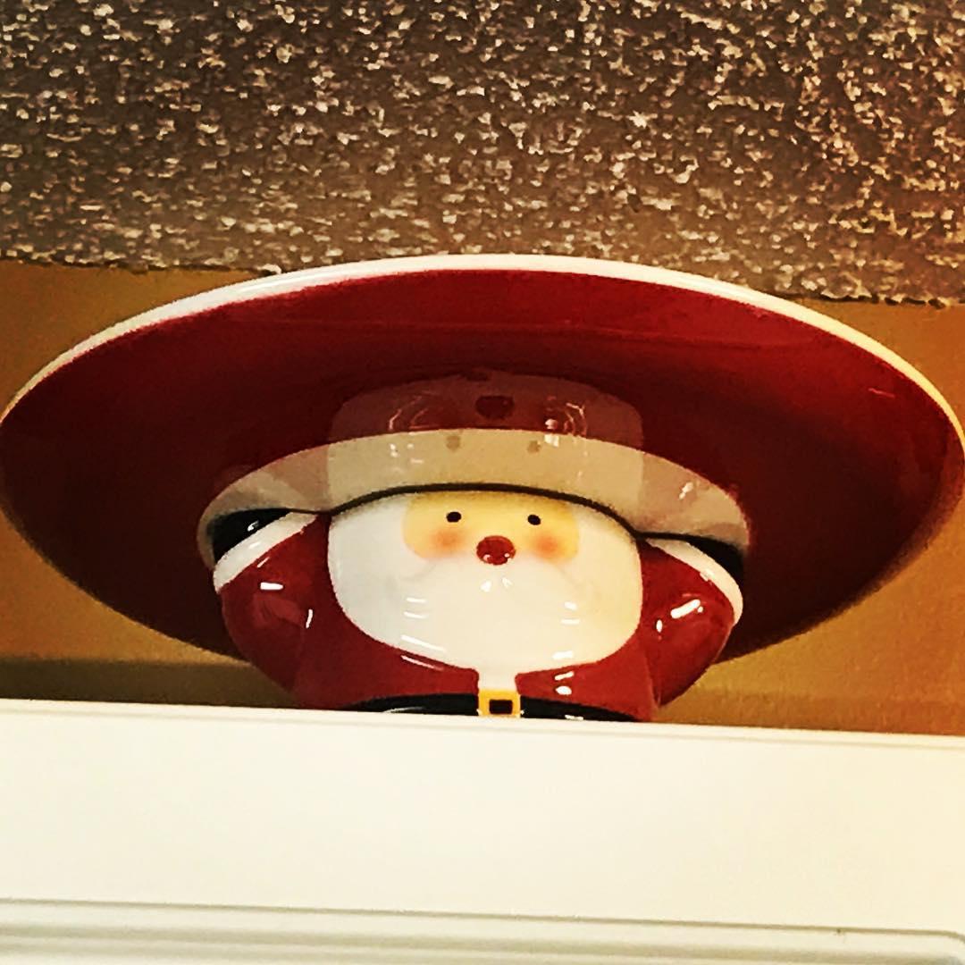 Santa's sombrero.