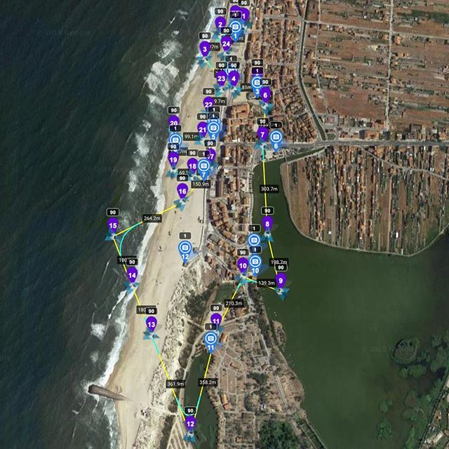 Going to try and pre-program some drone flights in Portugal this summer.