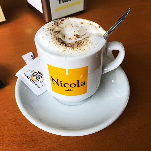 Instagram photo of coffee.