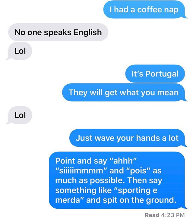 Nobody speaks English?  No problem.