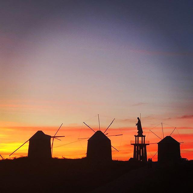 Moinhos sunset