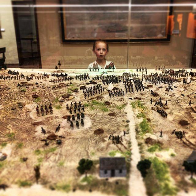 Carmen looms over the battleground.