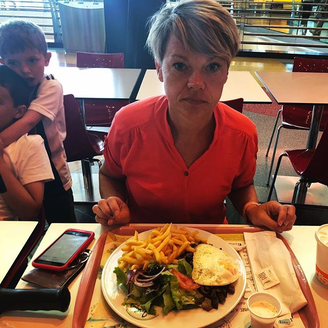 """""""I could get used to this whole fried egg on top thing."""" #shitpamsays"""