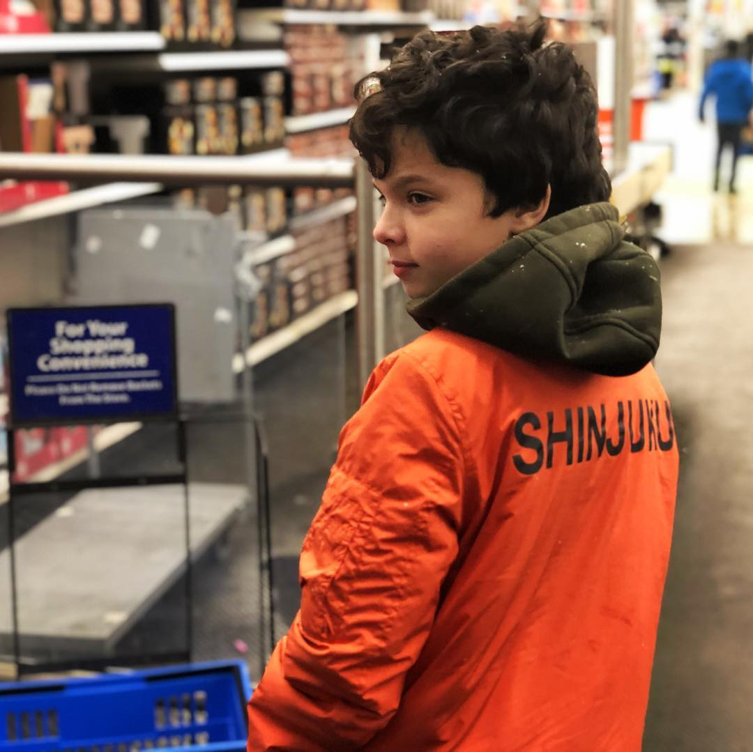 Xavier bought this Shinjuku jacket in Portugal.  Not sure what a Shinjuku is, though.