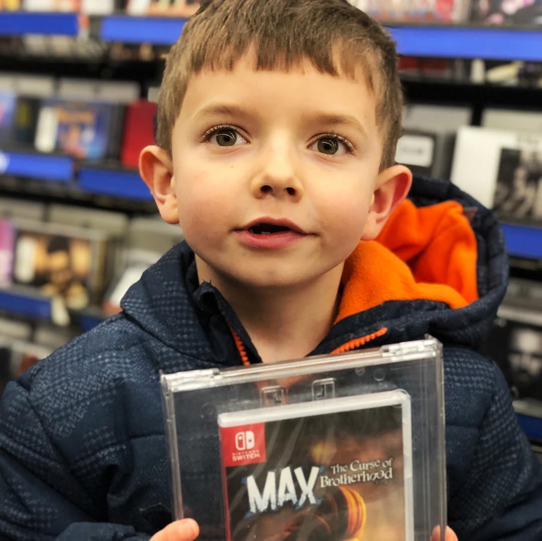 Max, the curse of brotherhood.