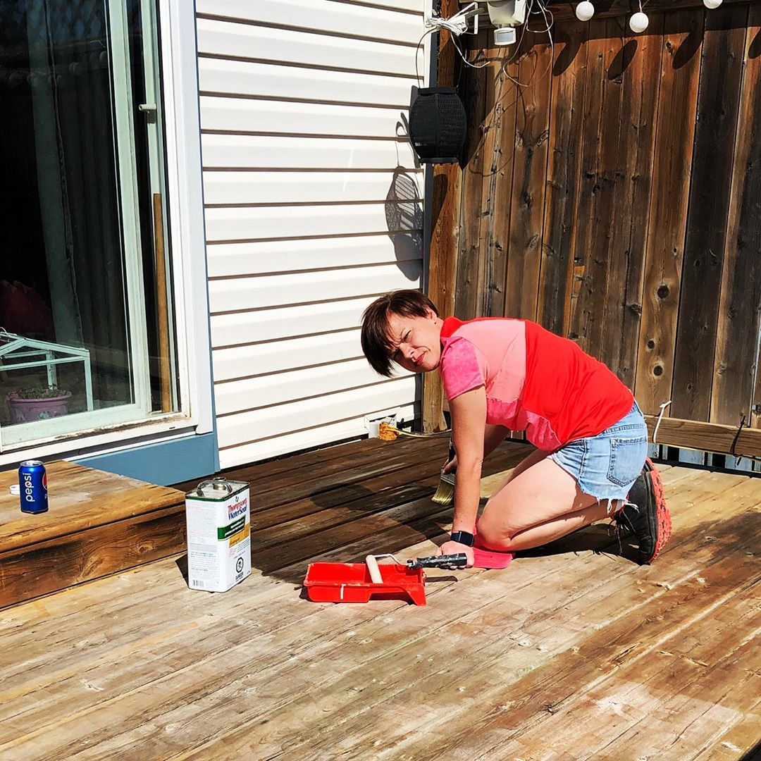 Marry a woman from Newfoundland.  She will already know how to stain the deck.