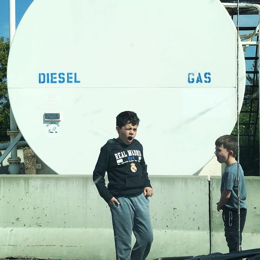 Diesel and gas