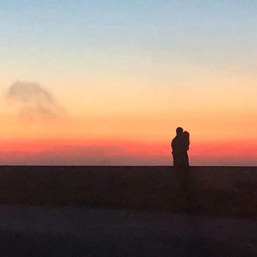 Sunset on Serra da Boa Viagem.
