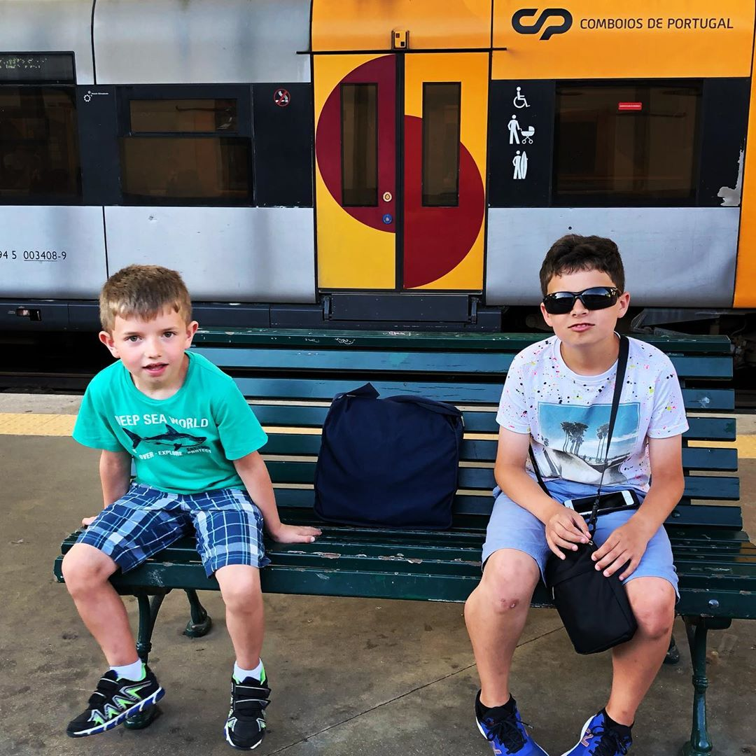 Train station boys.
