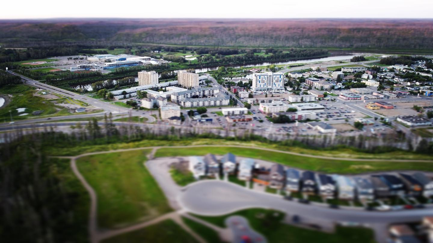 Another view of Downtown Fort McMurray, from Abasand.