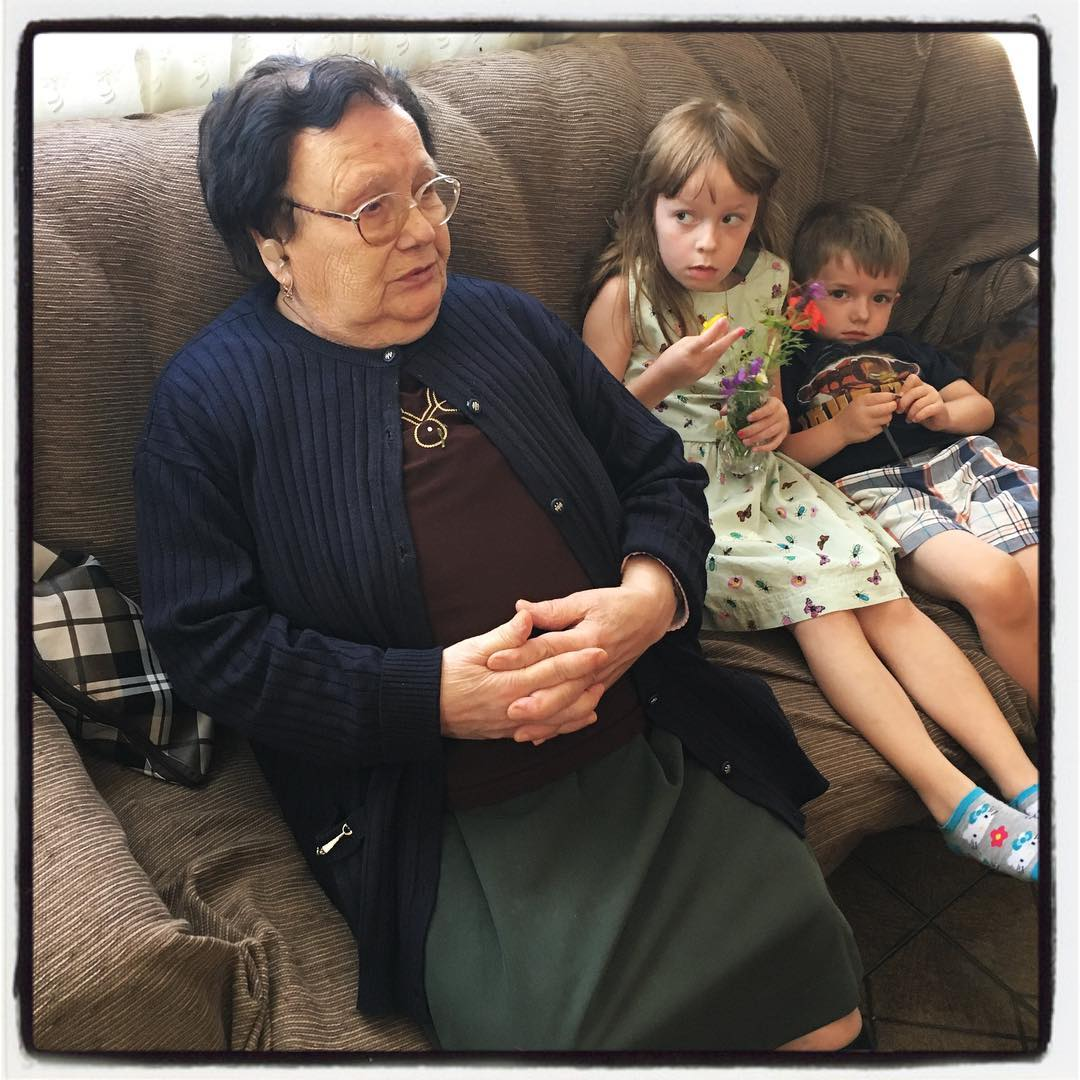Carmen and Max and their Great Grandmother