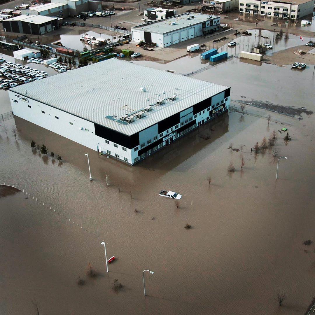 Taiganova flood.