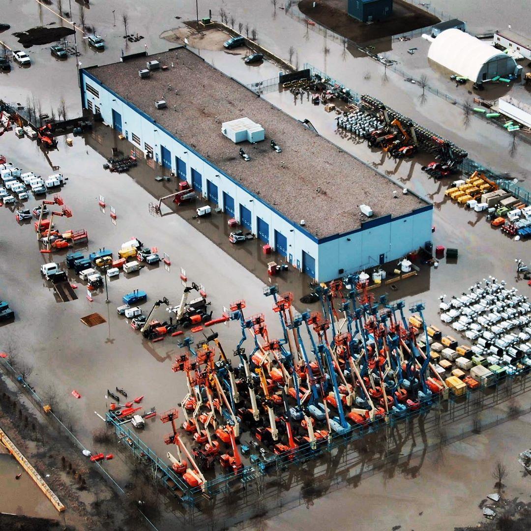Taiganova flooding.
