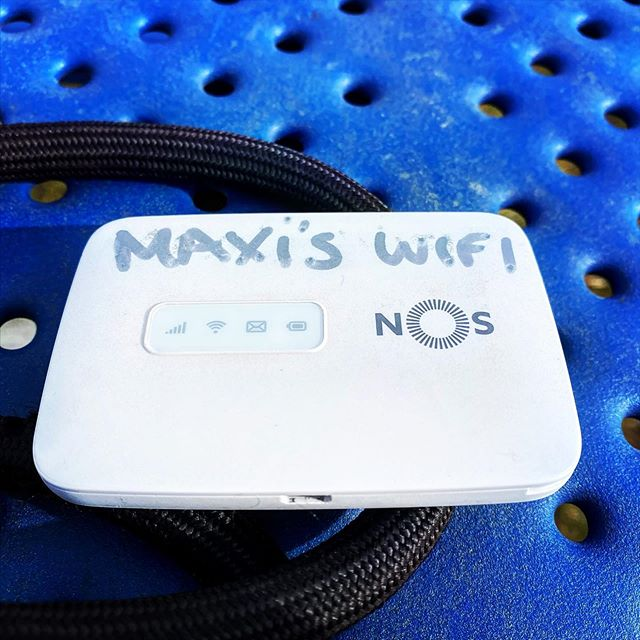 This summer, Maxi's Wi-Fi has a Canadian SIM.