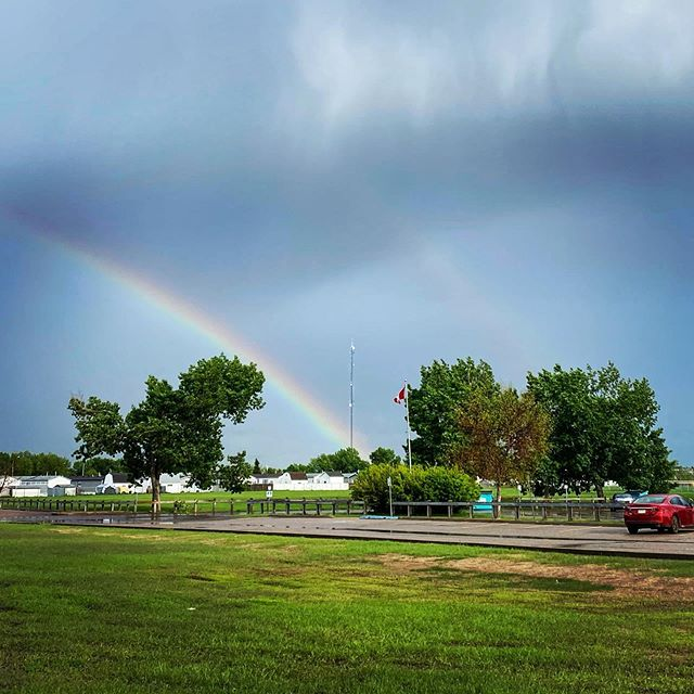 Double Rainbow in Gregoire! #ymm