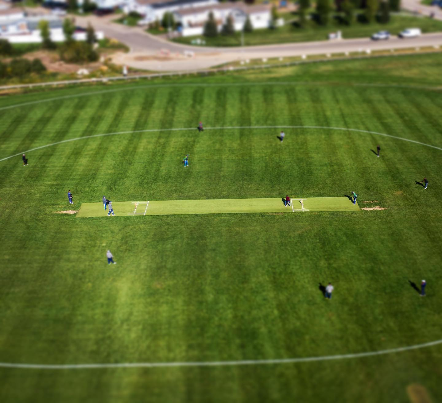 Cricket at Syncrude Athletic Park